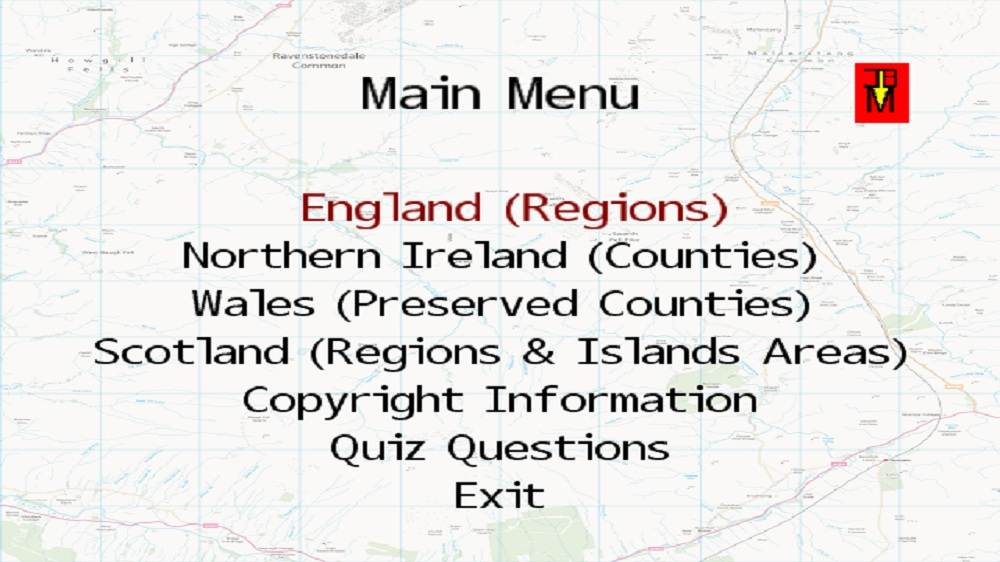Imagen de UK Regions & Counties