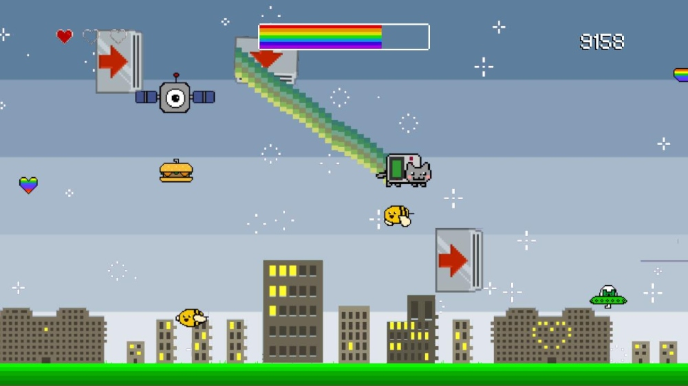 Image from Nyan Cat Adventure