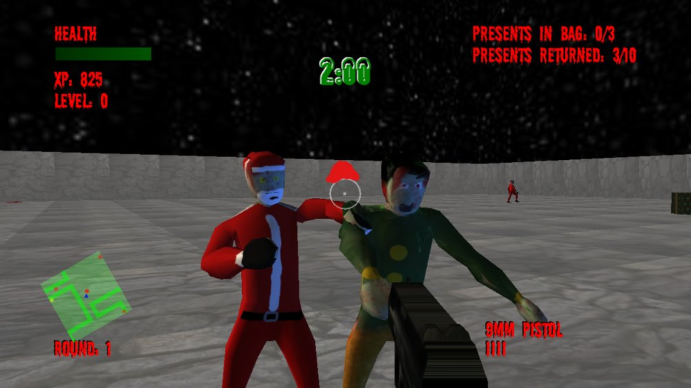 Image from North Pole Zombie Massacre