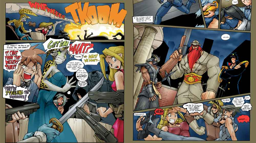 Image from Gold Digger The Comic 1 - 7