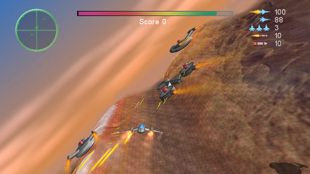 Image from SpaceFighter4000 Training