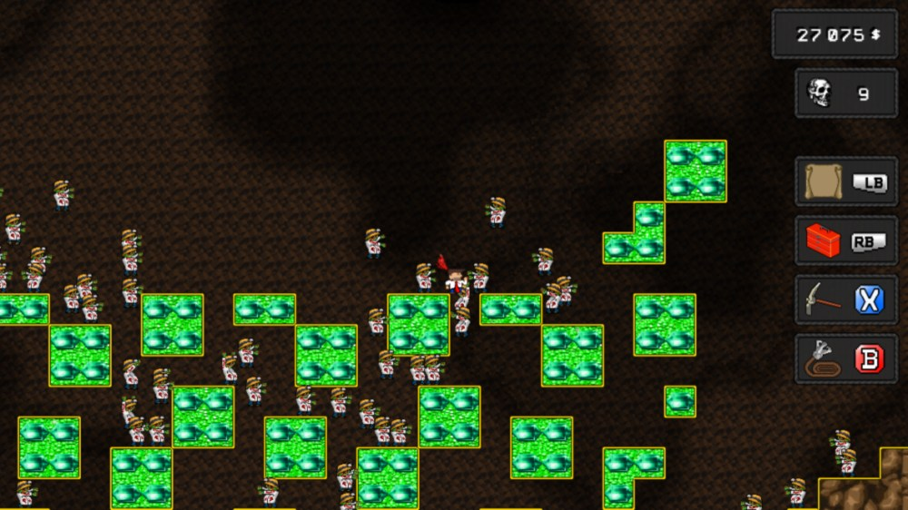 Image from Red Tie Miner Zombie