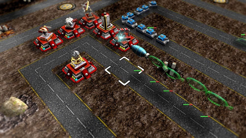 Image from Red Invasion: Tower Defense