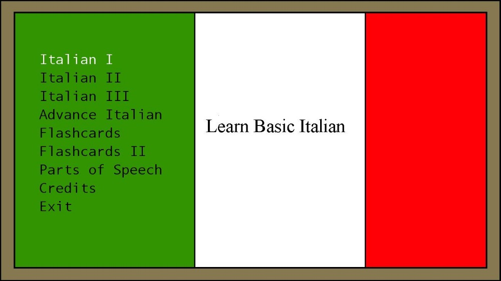 Image de Learn Basic Italian