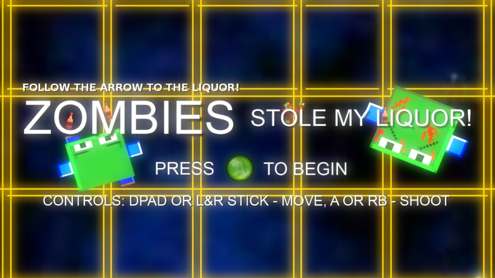 Image from ZOMBIES Stole My Liquor!
