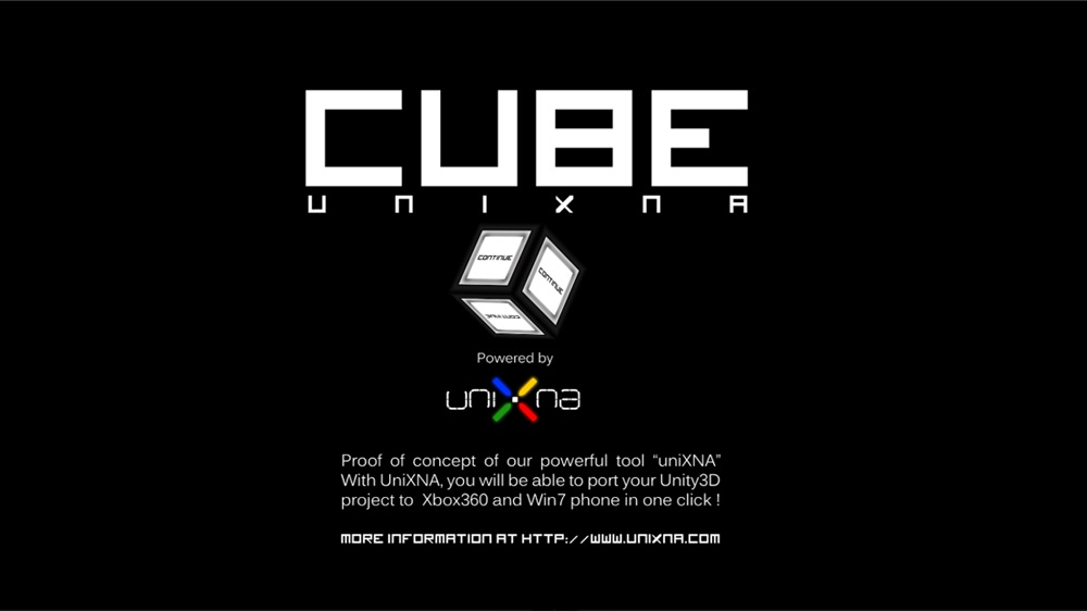 Image from UniXNA : Cube