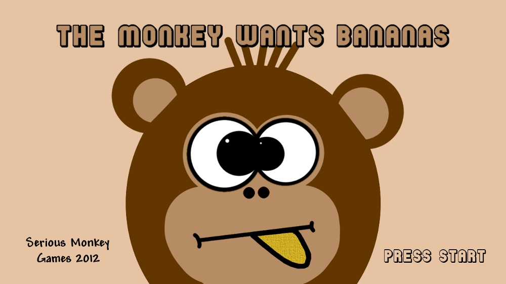 Image from THE MONKEY WANTS BANANAS
