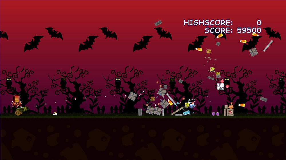 Image from Angry Fish: Halloween