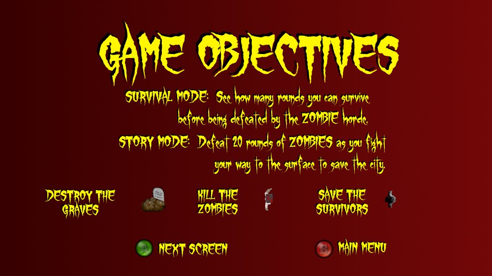 Image from Zombie Hunter 2D