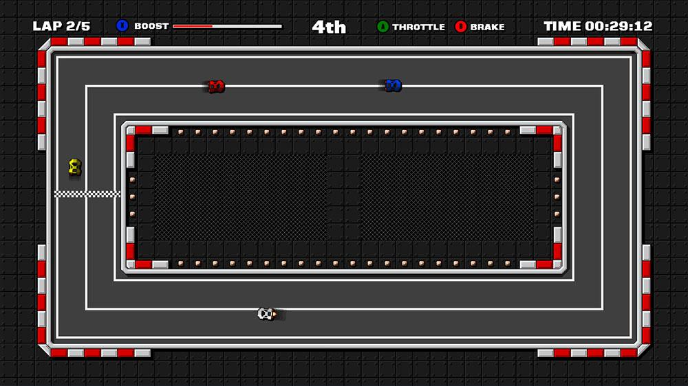 Image from Retro Pixel Racers