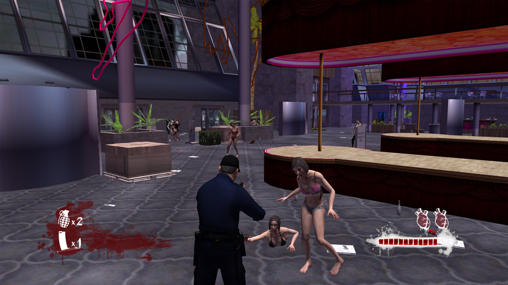 Image from Zombie Strippers Ate My Brains