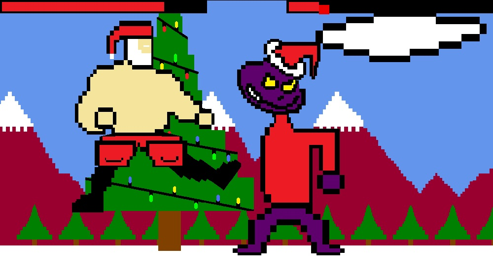Image from Super Santa Slayer