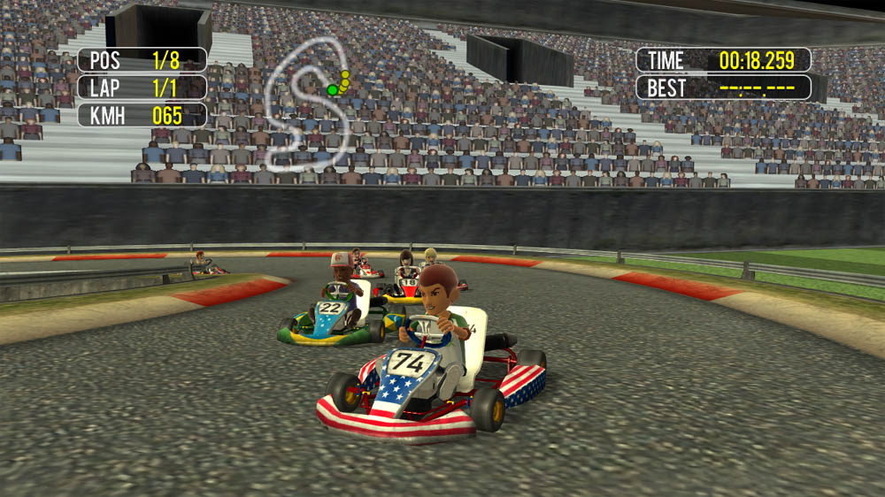 Image from Avatar Karting 2