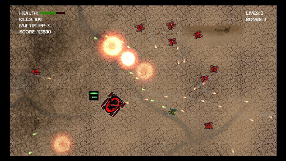 Image from Tank Attack 2D