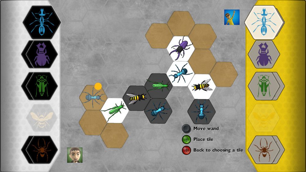 Image from H.i.v.e. (Hive the board game)