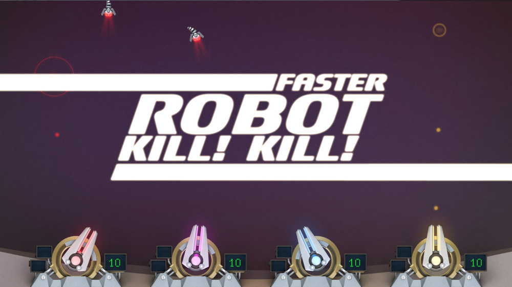 Image from Faster, Robot! Kill! Kill!