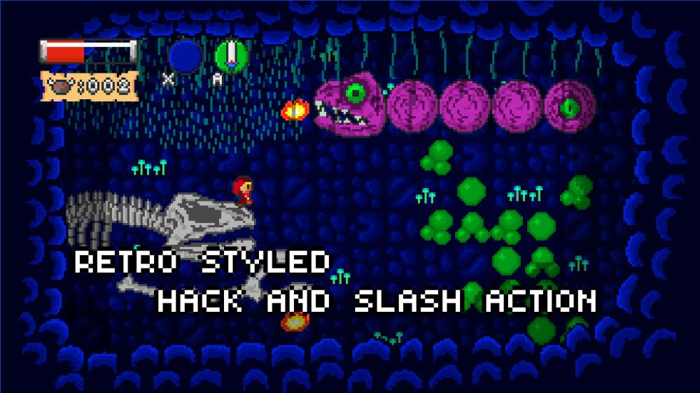Image from Retro Arcade Adventure Remade