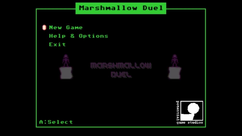 Bild från Marshmallow Duel