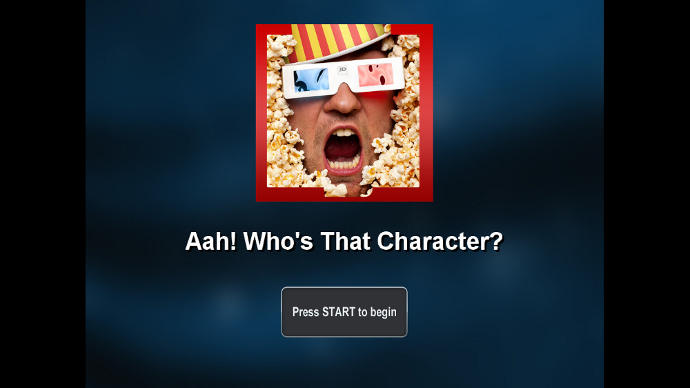 Image from Aah! Who's that Character?