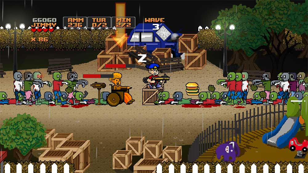 Image from Jimmy Vs Zombies