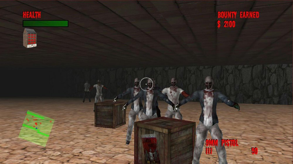 Image from Doomed Zombies