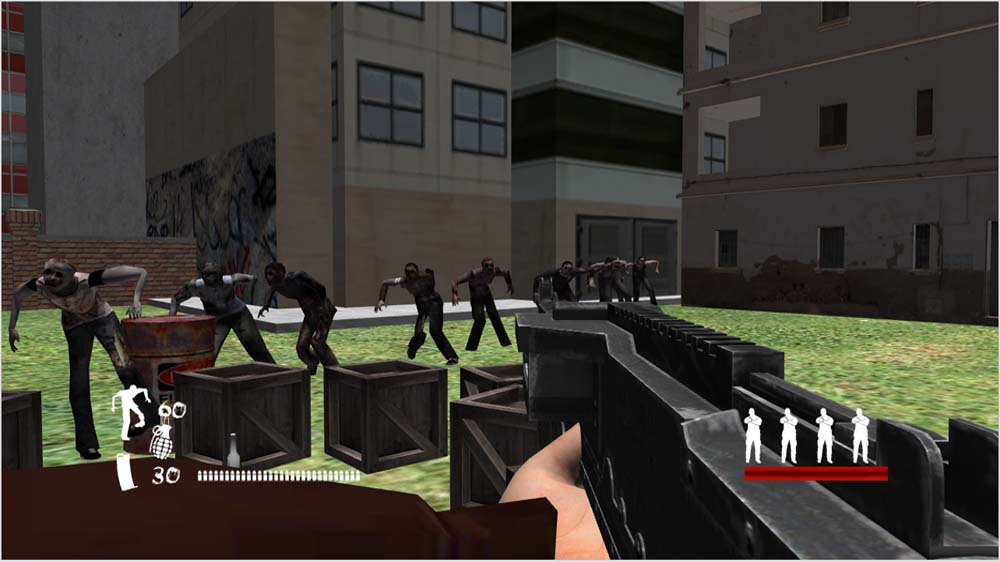 Immagine da The Co-Op Zombie Game