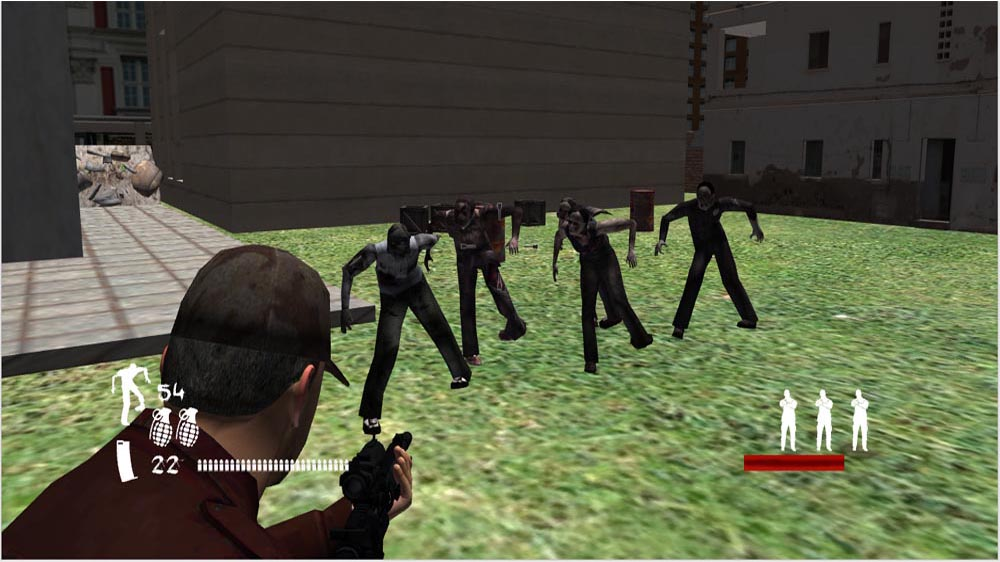 Image from The Co-Op Zombie Game