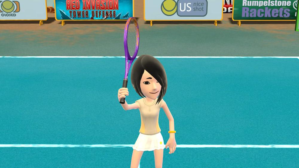 Image from Avatar Tennis!