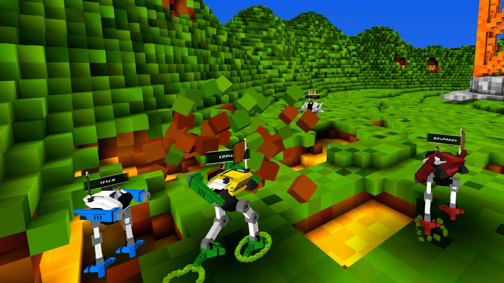 Imagen de Blocks and Big Robots