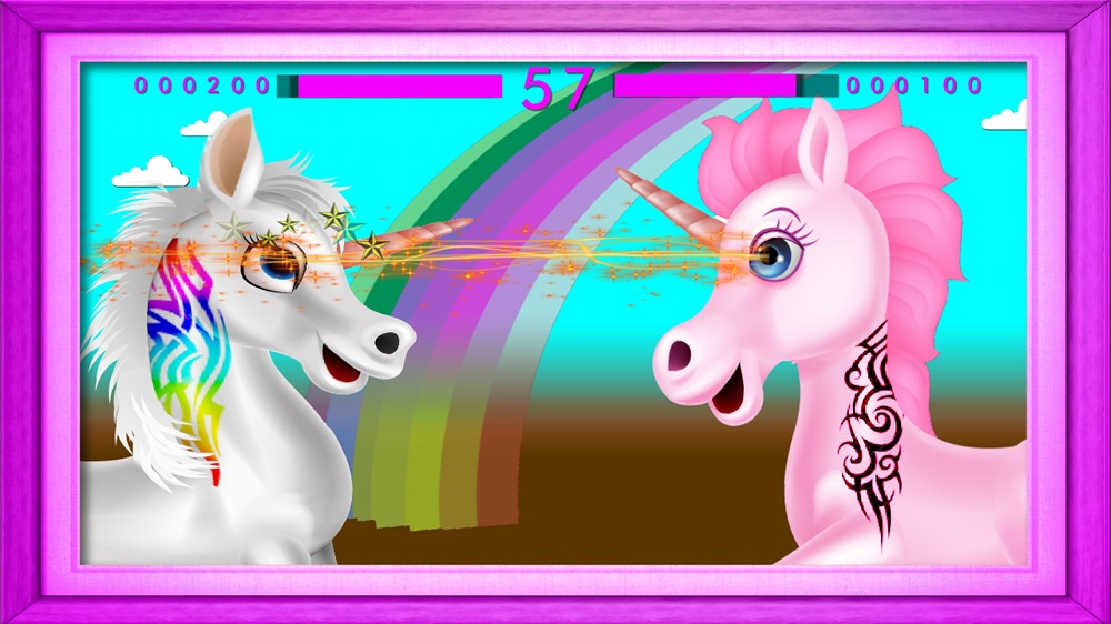 Image from Unicorn Makeout Mania