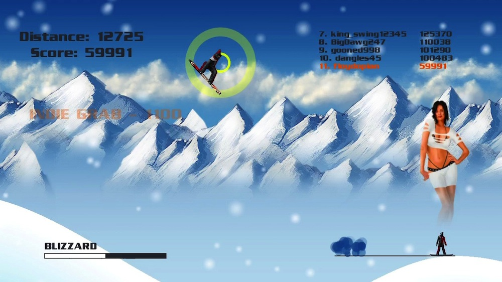 Image from Snowboard 2D