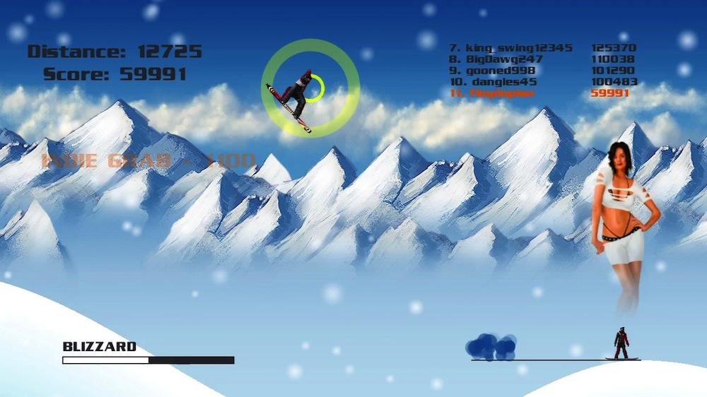 Imagen de Snowboard 2D