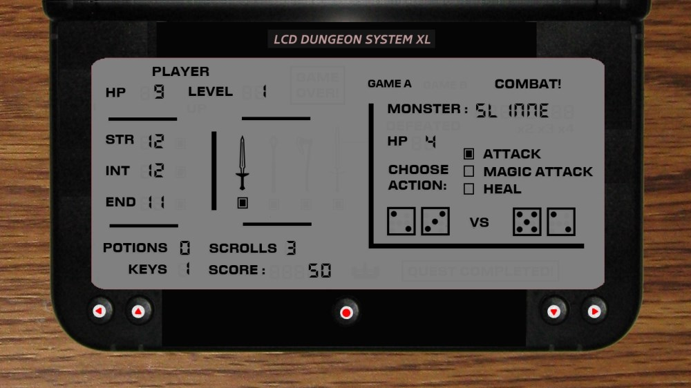 Image from LCD Dungeon System XL