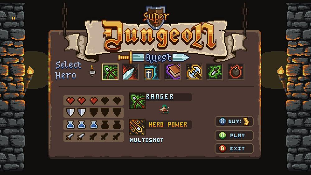 Image from Super Dungeon Quest