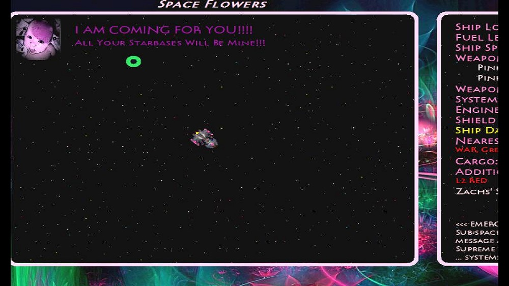 Image from Space Flowers