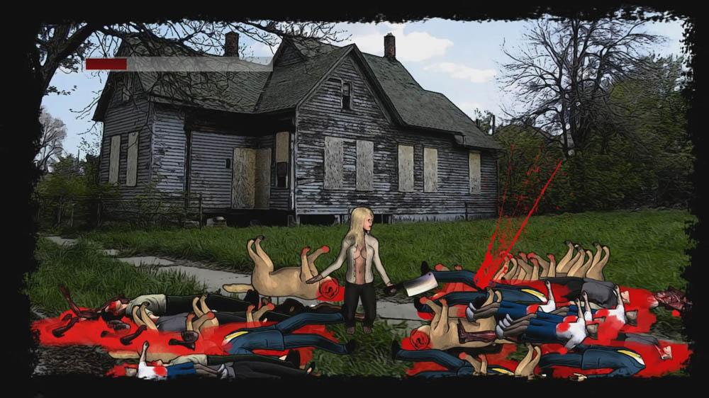 Image from Massive Cleavage vs Zombies